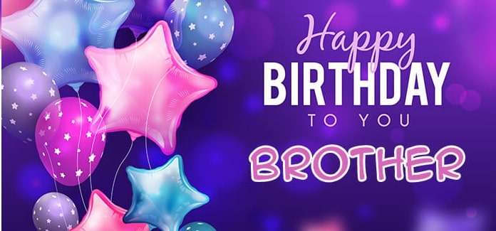 50+ Best Birthday Shayari & Quotes for Brother In English